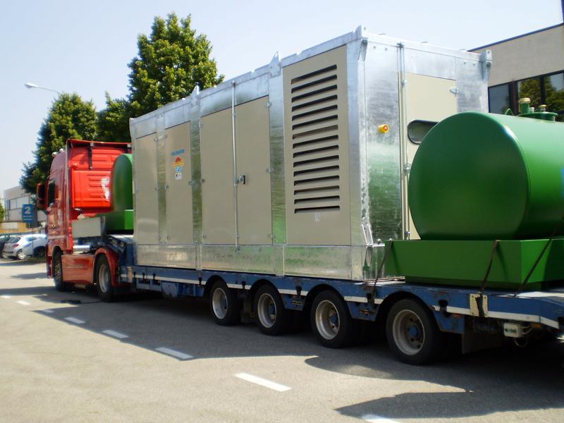 GE 1000kVA (PE-1125.5) SILENT con cisterne stoccaggio gasolio