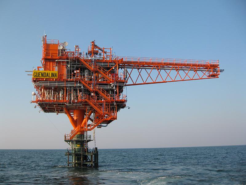 GE 100kVA (FI-110.5) insonorizzato. Applicazione piattaforma gas